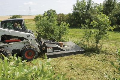 Where to find 66  MOWER ATTCHMNT FOR SKDLDR in Burnet